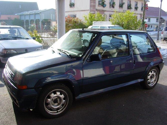 Resto / prepa de ma Super 5 GT Turbo AO DSC00686