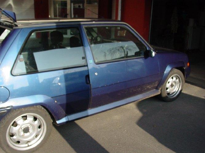 Resto / prepa de ma Super 5 GT Turbo AO DSC00689