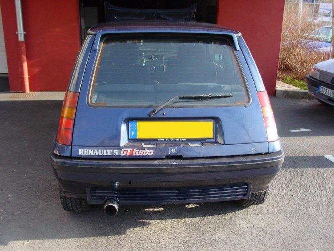 Resto / prepa de ma Super 5 GT Turbo AO DSC006922