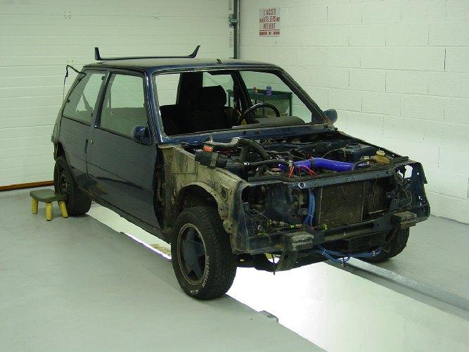 Resto / prepa de ma Super 5 GT Turbo AO DSC01929