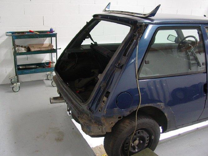 Resto / prepa de ma Super 5 GT Turbo AO DSC01932