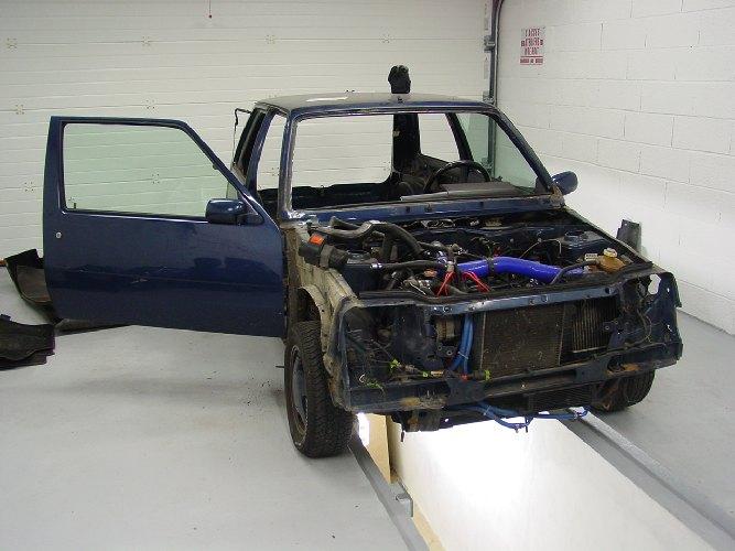 Resto / prepa de ma Super 5 GT Turbo AO DSC01938