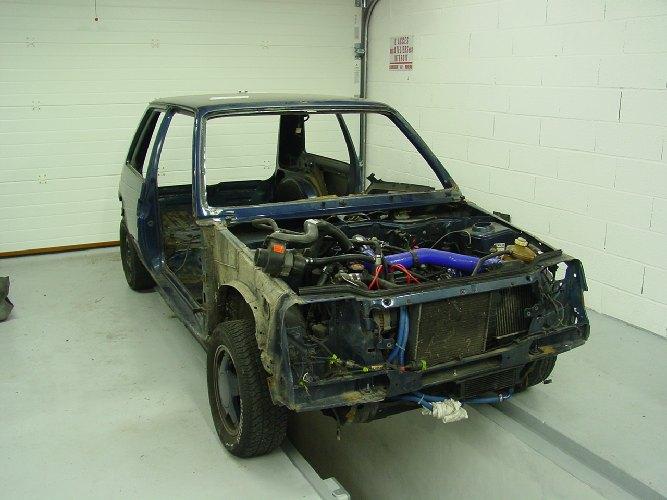 Resto / prepa de ma Super 5 GT Turbo AO DSC01953