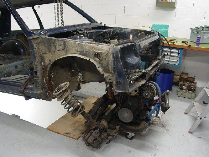 Resto / prepa de ma Super 5 GT Turbo AO DSC02008