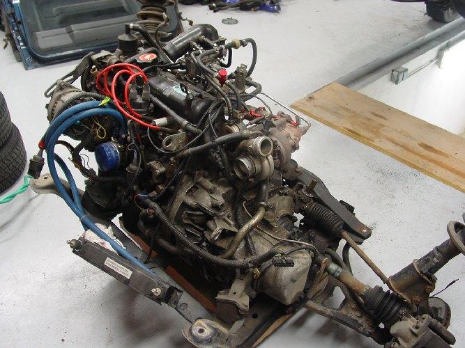Resto / prepa de ma Super 5 GT Turbo AO DSC02010
