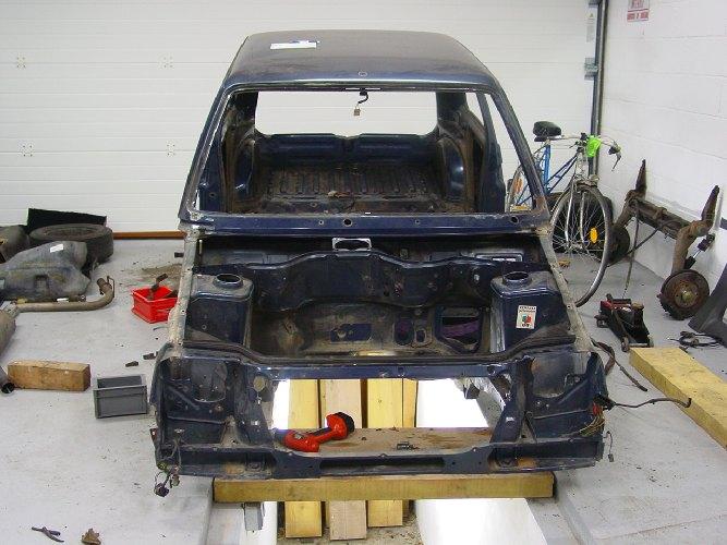 Resto / prepa de ma Super 5 GT Turbo AO DSC02037
