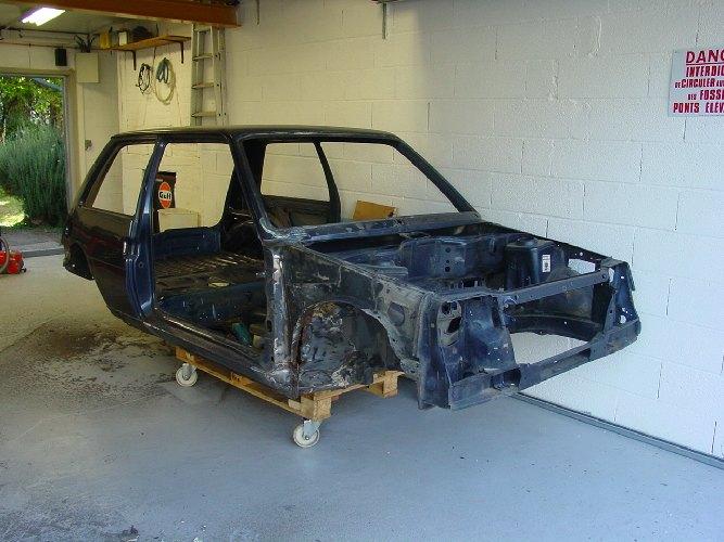 Resto / prepa de ma Super 5 GT Turbo AO DSC02075